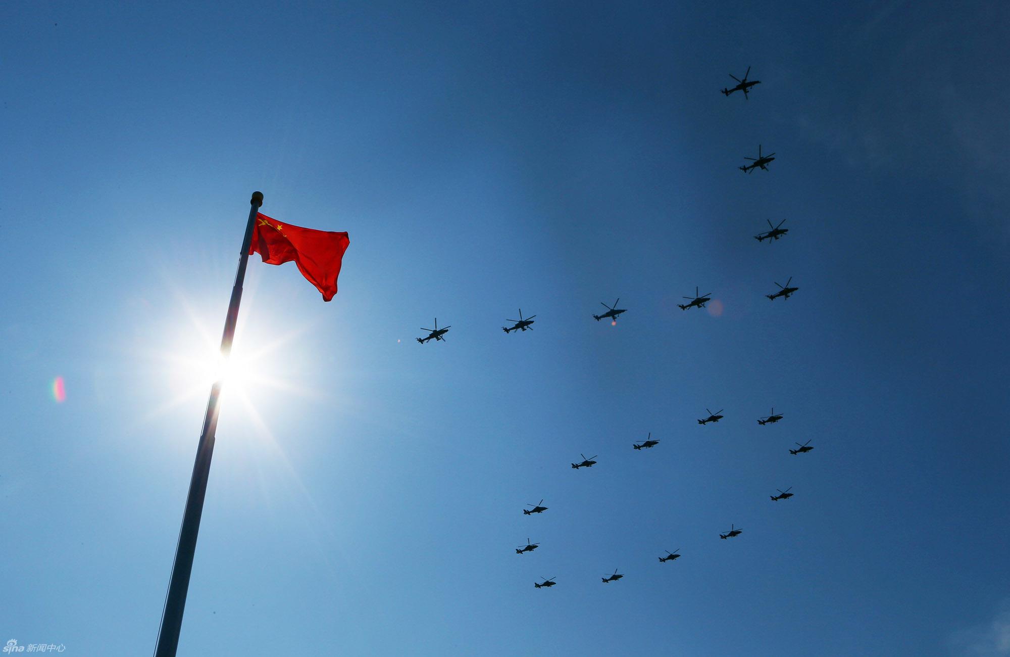 歼击机第一梯队:由歼-11B编队组成 - 新兵 -